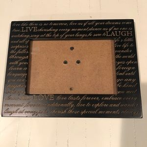 Live Love Laugh Wood Photo Picture Frame